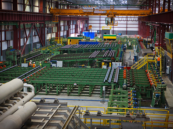 Giant Japanese Steel Mill Signals Pandemic-Recovery Taking Root